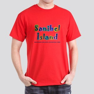 Sanibel Type - Dark T-Shirt
