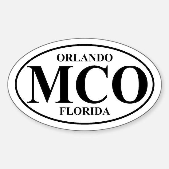 MCO Orlando Oval Decal