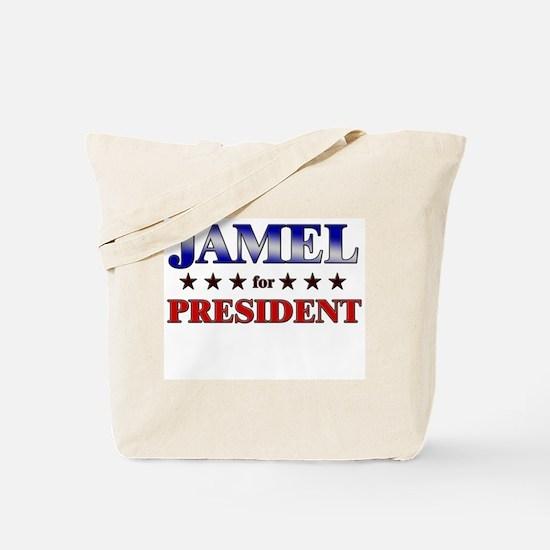 JAMEL for president Tote Bag