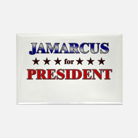 JAMARCUS for president Rectangle Magnet