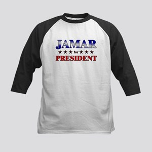 JAMAR for president Kids Baseball Jersey