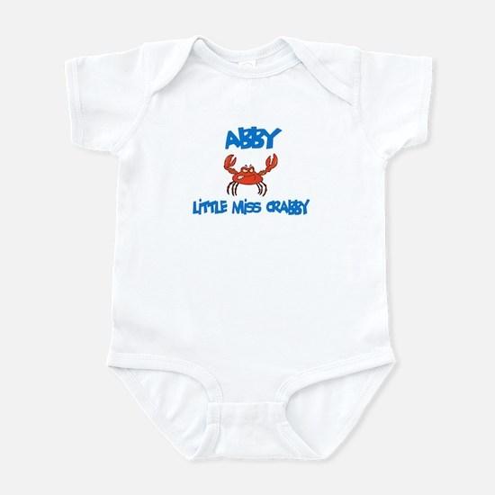 Abby - Little Miss Crabby Infant Bodysuit