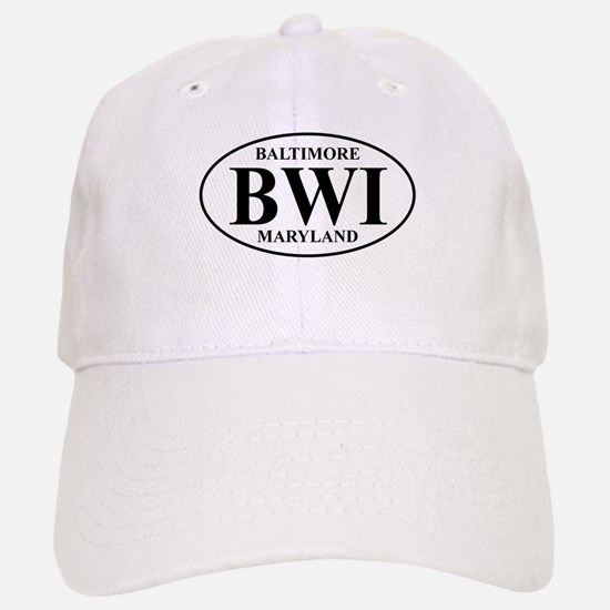 BWI Baltimore Baseball Baseball Cap