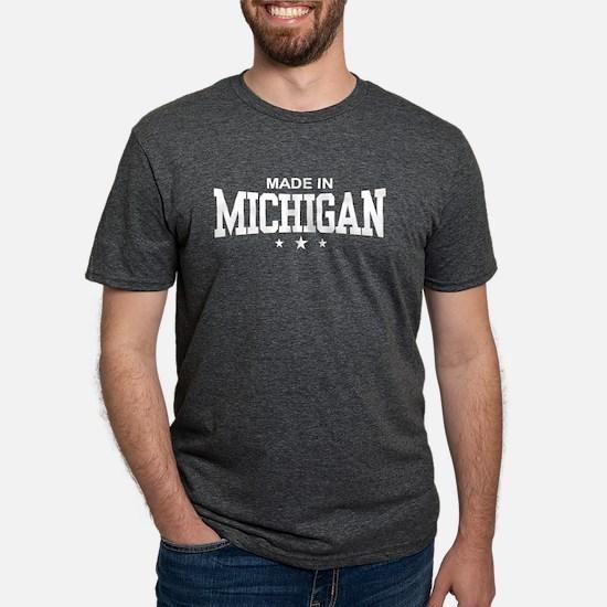 Made in Michigan Women's Dark T-Shirt