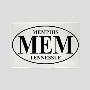 MEM Memphis Rectangle Magnet