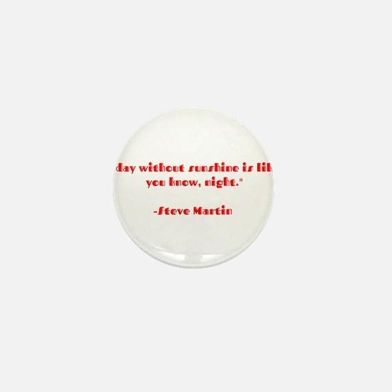 Cute Steve martin Mini Button