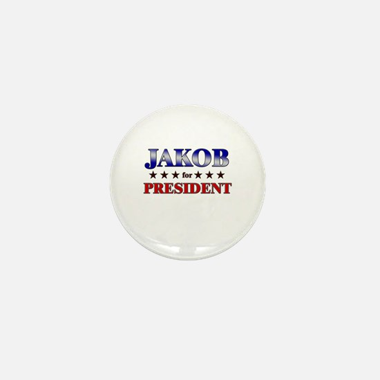 JAKOB for president Mini Button
