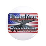 """Legalize Freedom 3.5"""" Button (100 pack)"""