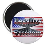 "Legalize Freedom 2.25"" Magnet (100 pack)"