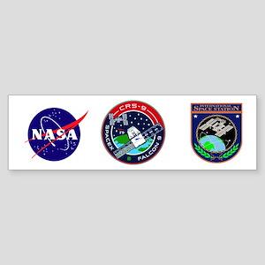 CRS-9 Flight Logo Sticker (Bumper)