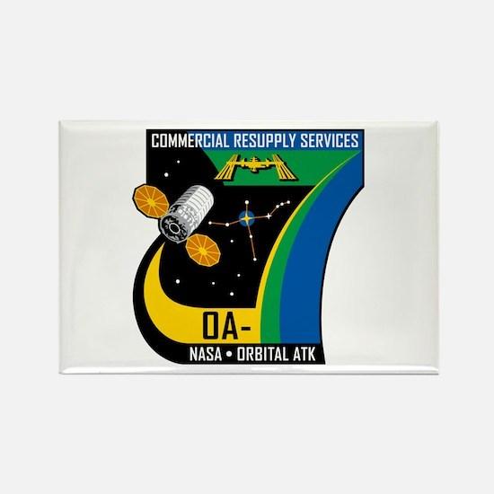 Orb-7 Logo Rectangle Magnet