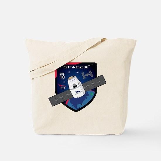 CRS-10 Flight Logo Tote Bag