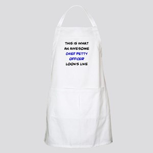 awesome chief petty officer Apron