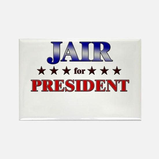 JAIR for president Rectangle Magnet