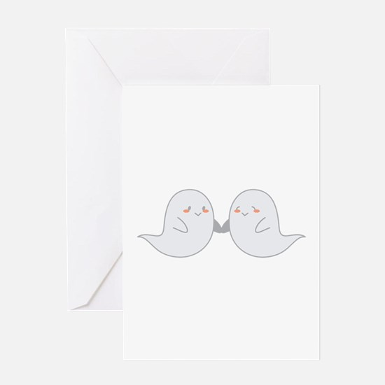 Ghosts Greeting Cards