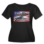 Legalize Freedom Women's Plus Size Scoop Neck Dark