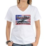 Legalize Freedom Women's V-Neck T-Shirt