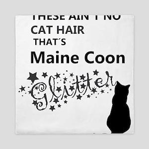 Maine Coon Glitter Queen Duvet