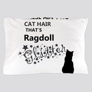 Ragdoll Glitter Pillow Case
