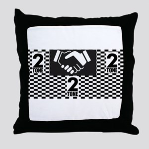 2 Tone Love Throw Pillow