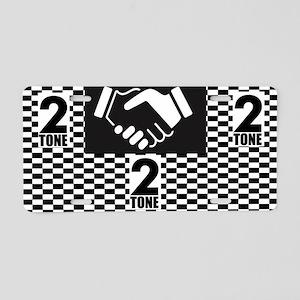 2 Tone Love Aluminum License Plate