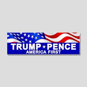 Trump Pence America Car Magnet 10 X 3