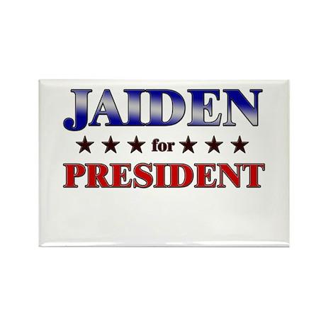 JAIDEN for president Rectangle Magnet