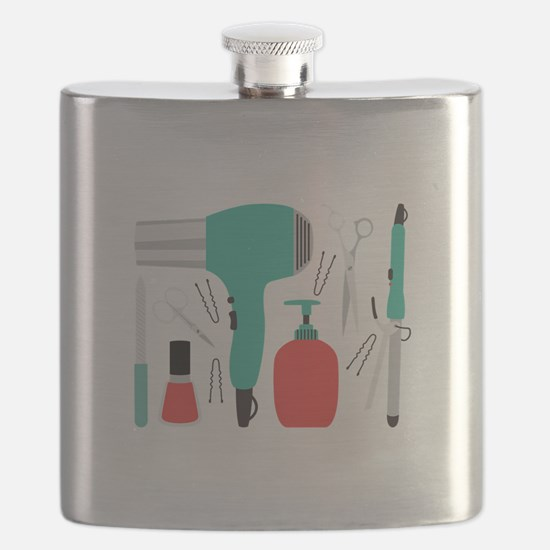 Cosmetology Tools Flask