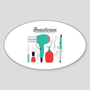 Beautician Sticker