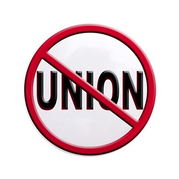 "Anti-Union 3.5"" Button (100 pack)"