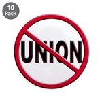 Anti-Union Large Button (10 pack)