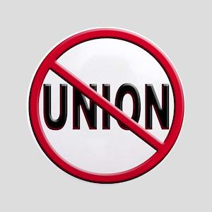 Anti-Union Large Button