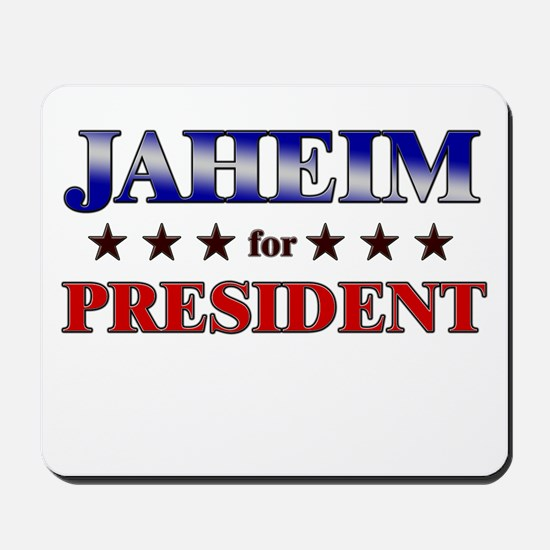 JAHEIM for president Mousepad