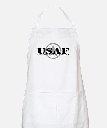 I Support Son-in-Law - Air Force BBQ Apron