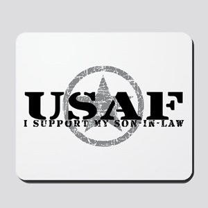 I Support Son-in-Law - Air Force Mousepad