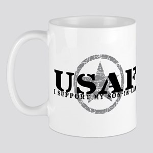 I Support Son-in-Law - Air Force Mug