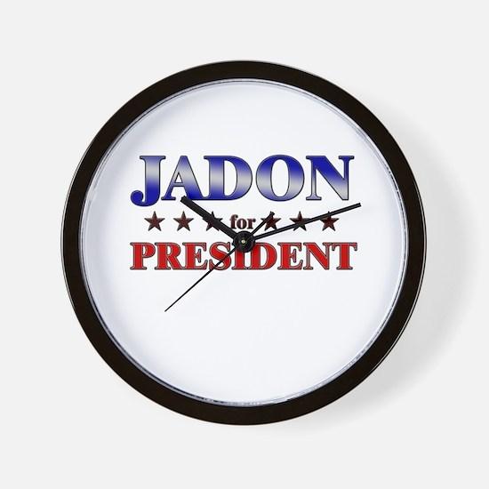 JADON for president Wall Clock