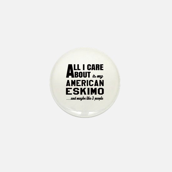 All I care about is my Toy American Es Mini Button