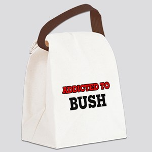 Addicted to Bush Canvas Lunch Bag