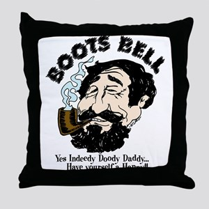 Boots Bell Color Throw Pillow