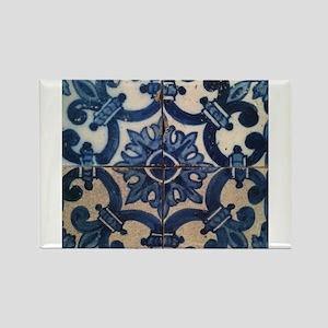 Portuguese tile de Braga Magnets