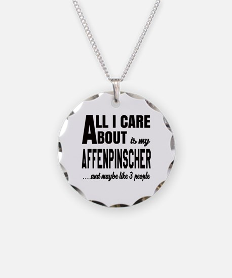 All I care about is my Affen Necklace