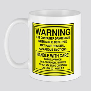 Hazardous Military Mom Mug