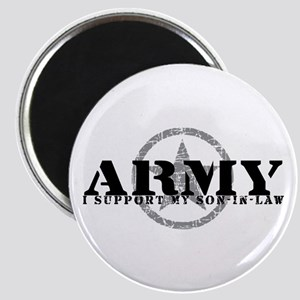 Army - I Support My Son-in-Law Magnet