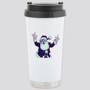 ILY ASL Santa Travel Mug