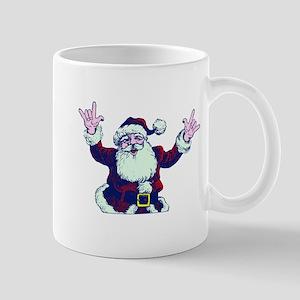 ILY ASL Santa Mugs