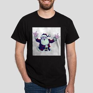 ILY ASL Santa T-Shirt
