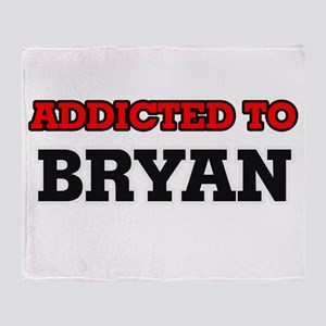 Addicted to Bryan Throw Blanket