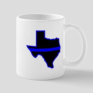Texas Blue Lives Matter Mugs
