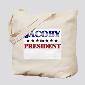 JACOBY for president Tote Bag